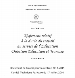 Règlement éducation 2014
